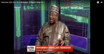 Interview with Gov. M.A Abubakar of Bauchi State